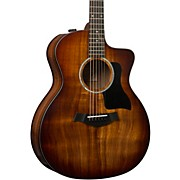 224ce-K DLX Grand Auditorium Acoustic-Electric Guitar Shaded Edge Burst