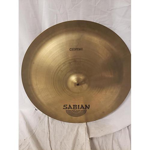 Sabian 22in AA Chinese Cymbal