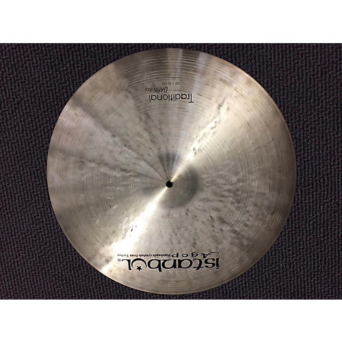 Istanbul Agop 22in Agop Traditional Dark Ride Cymbal