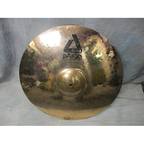Paiste 22in Alpha Rock Ride Brilliant Cymbal