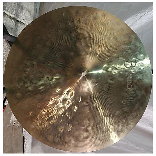 used meinl 22in byzance jazz medium thin ride traditional cymbal 42 guitar center. Black Bedroom Furniture Sets. Home Design Ideas