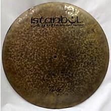 Istanbul Agop 22in Flat Ride Turkish Cymbal Cymbal