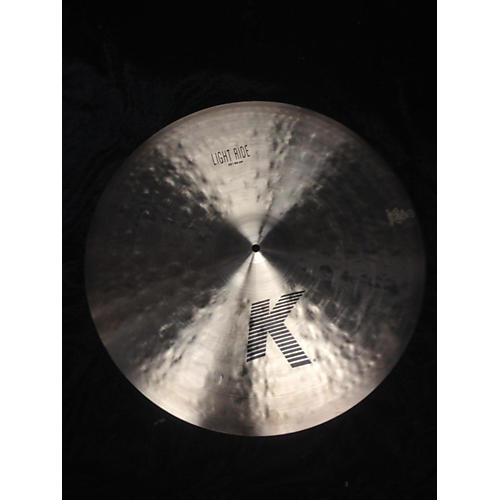 Zildjian 22in K Custom Dry Light Ride Cymbal