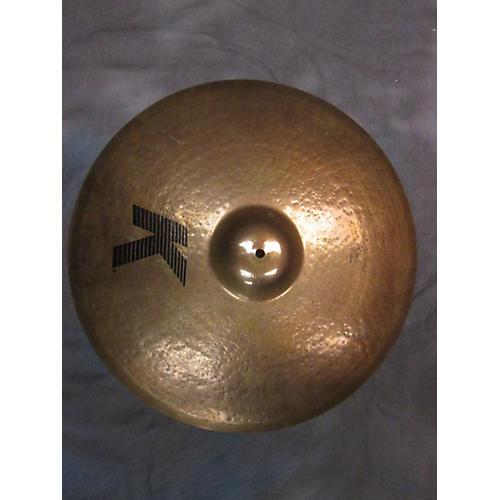 Zildjian 22in K Custom Ride Brilliant Cymbal