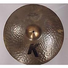 Zildjian 22in K ORGANIC RIDE Cymbal
