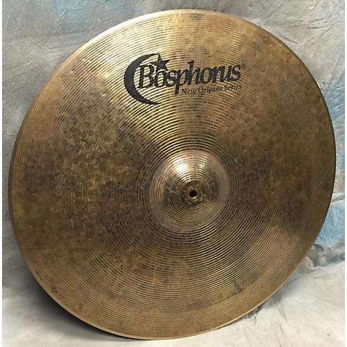 Bosphorus Cymbals 22in NEW ORLEAN SERIES 22 RIDE Cymbal