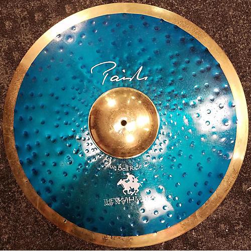 Paiste 22in Stewart Copeland SIGNATURE BLUE BELL RIDE Cymbal