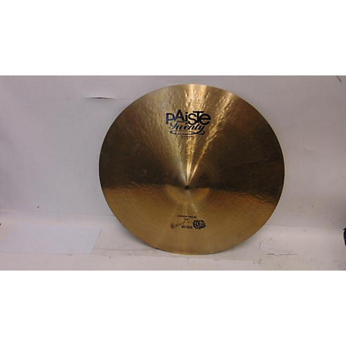 Paiste 22in Twenty Masters Collection Crisp Ride Cymbal