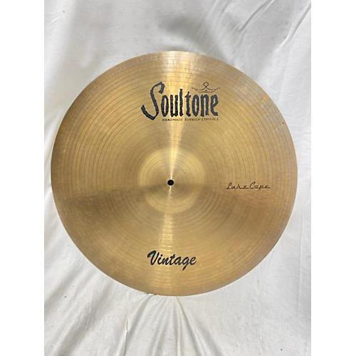 Soultone 22in Vintage Luke Cope Cymbal