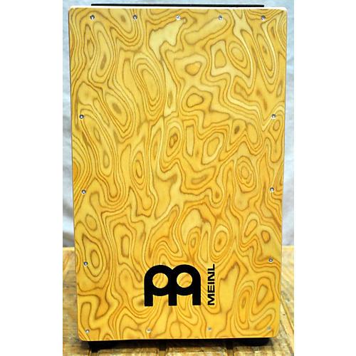 Meinl 22x20 Siam Oak Makah Burl Front Plate Cajon Cajon