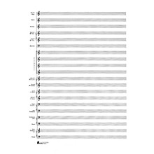 Music Sales 23. Score Pad: 20-stave (Concert Band) (Passantino Manuscript Paper) Music Sales America Series