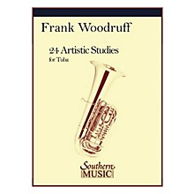 Southern 24 Artistic Studies (Tuba) Southern Music Series Composed by Frank Woodruff