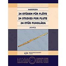Editio Musica Budapest 24 Studies for Flute, Op. 15 EMB Series by Carl Joachim Andersen