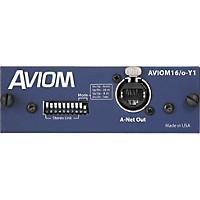Aviom Aviom16/O-Y1 Card For Yamaha Digital Mixers Aviom Blue