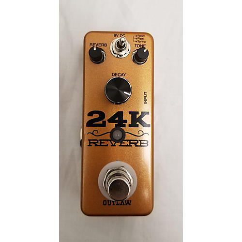 Outlaw Effects 24K REVERB Effect Pedal