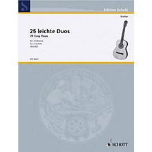 Schott 25 Easy Guitar Duets (Performance Score) Schott Series