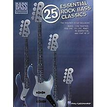 Hal Leonard 25 Essential Rock Bass Classics Tab Songbook