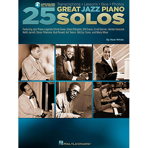 Hal Leonard 25 Great Jazz Piano Solos - Transcriptions