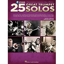Hal Leonard 25 Great Trumpet Solos Book/Online Audio includes Transcriptions * Lessons * Bios * Photos