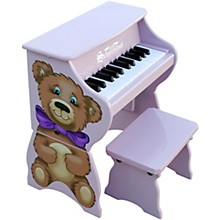 25-Key Toy Piano with Bench Purple