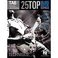Hal Leonard 25 Top Blues/Rock Songs - Tab Tone & Technique (Tab+) thumbnail