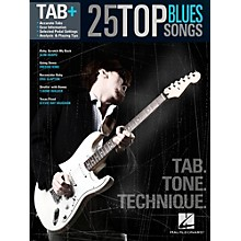 Hal Leonard 25 Top Blues Songs - Tab. Tone. Technique.