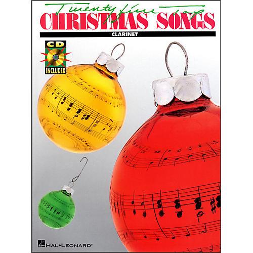 Hal Leonard 25 Top Christmas Songs for Clarinet Book/CD