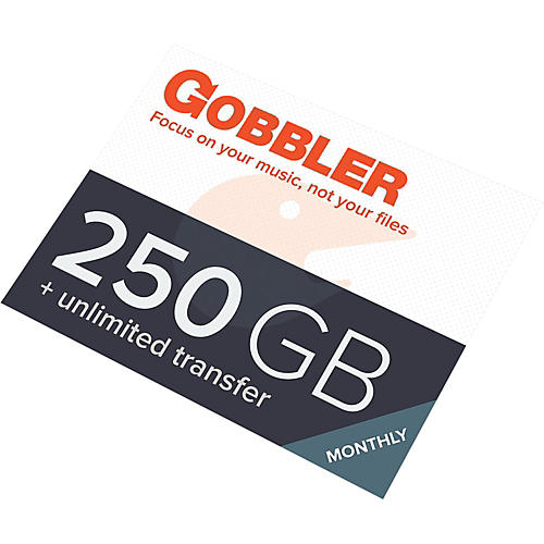 Gobbler 250GB/Month Plan Software Download