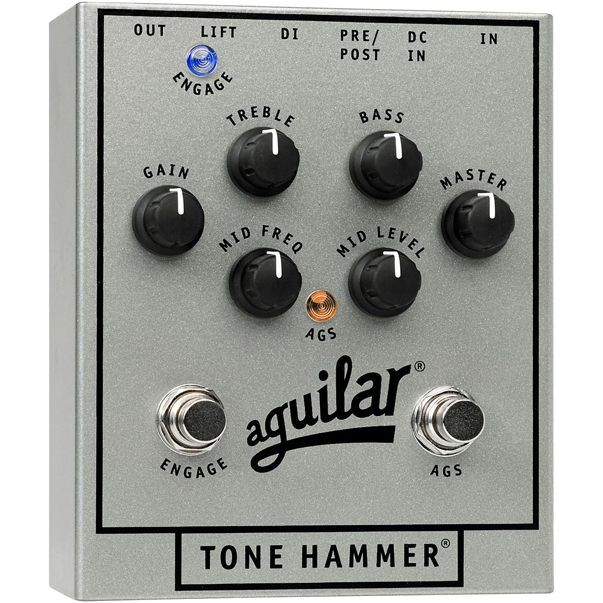 Aguilar 25th Anniversary Tone Hammer Preamp/D.I.