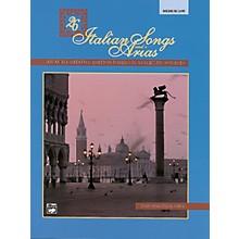 Alfred 26 Italian Songs and Arias Book (Medium Low)