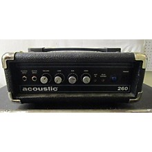 Acoustic 260H Bass Amp Head
