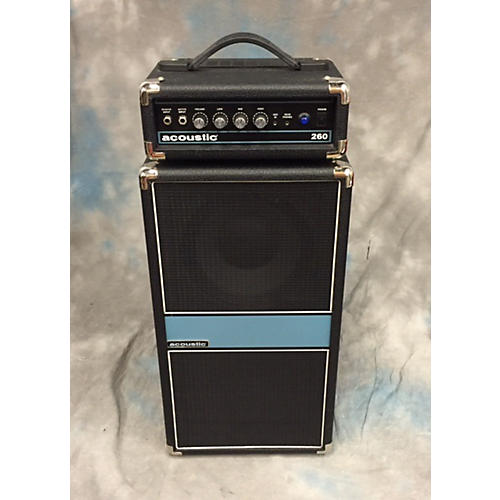 Acoustic 260h And 260c Bass Stack