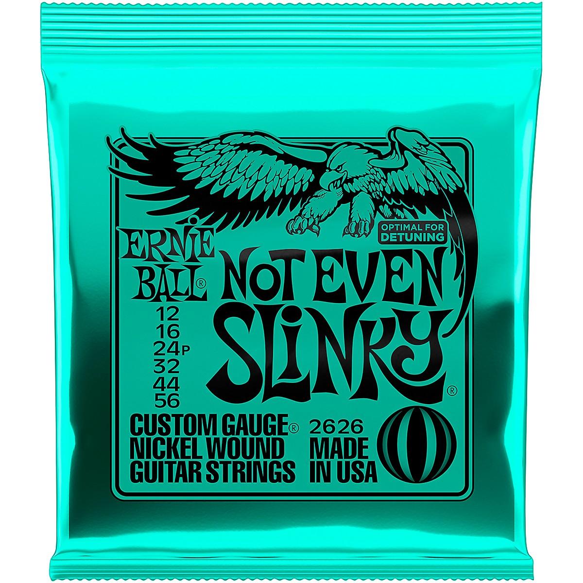 Ernie Ball 2626 Nickel Not Even Slinky Drop Tuning Electric Guitar Strings
