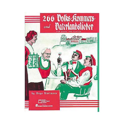 Hal Leonard 266 Volk Kommers Und VaterlandliederSongbook