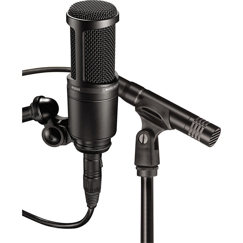 Audio-Technica At2041sp At2020 And At2021 Microphone Pack