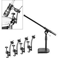 Musician's Gear Drum Microphone Mount Kit 5 Pack
