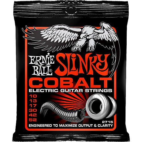 Ernie Ball 2715 Cobalt Skinny Top Heavy Bottom Electric Guitar Strings