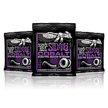 Ernie Ball 2720 Cobalt Power Slinky Electric Guitar Strings - 3 Pack