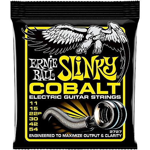 Ernie Ball 2727 Cobalt Beefy Slinky Electric Guitar Strings