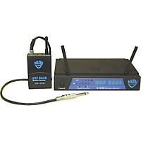 Nady U-33B Uhf Bass Wireless Microphone System Mu4 / 493.55