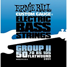 Ernie Ball 2804 Flat Wound Group II Electric Bass Strings