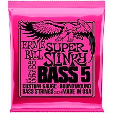 Ernie Ball 2824 Super Slinky 5-String Bass Strings