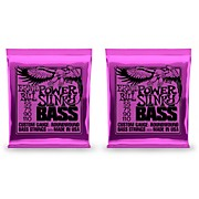 2831 Slinky Round Wound Power Bass Strings 2 Pack