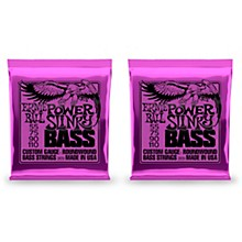 Ernie Ball 2831 Slinky Round Wound Power Bass Strings 2 Pack