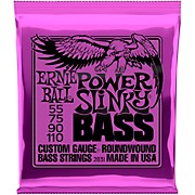 2831 Slinky Round Wound Power Bass Strings