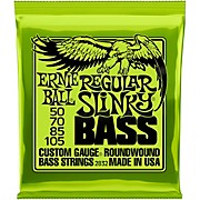 2832 Regular Slinky Roundwound Bass Strings