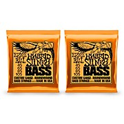 2833 Hybrid Slinky Round Wound Bass Strings 2 Pack