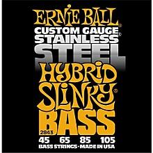 Ernie Ball 2843 Hybrid Slinky Stainless Steel Bass Strings