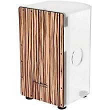 29 Series Acrylic Cajon Roundback White Zebra Wood Front Plate