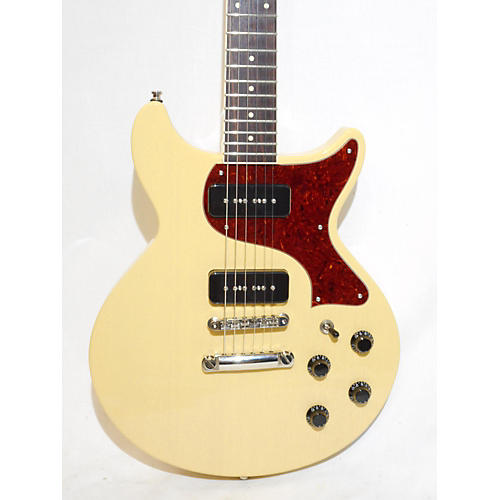 used collings 290 dc solid body electric guitar tv yellow guitar center. Black Bedroom Furniture Sets. Home Design Ideas
